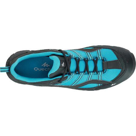 Arpenaz 100 Women's waterproof hiking boots - Blue