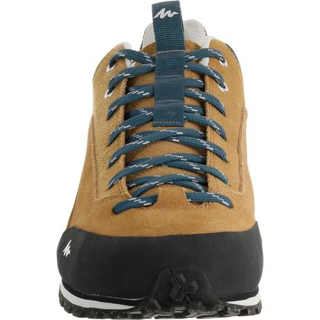Nh500 Men S Hiking Shoes Beige Quechua