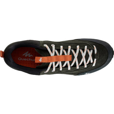 Chaussures de randonnée nature NH500 kaki/orange homme