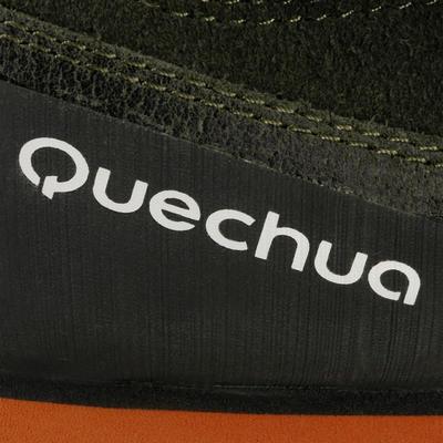 حذاء NH500 رجالي للمشي مسافات طويلة – لون كاكي/ برتقالي