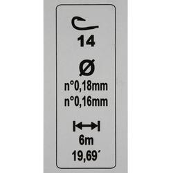 Posenmontagen Karpfenteich RL Lakesensiv H12 2 Stk.