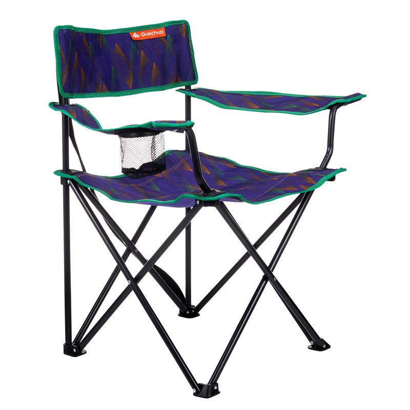 Mobilier camping fauteuil série limitée Dots violet