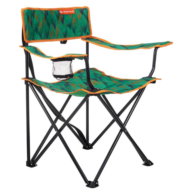 Mobilier camping fauteuil série limitée Dots vert