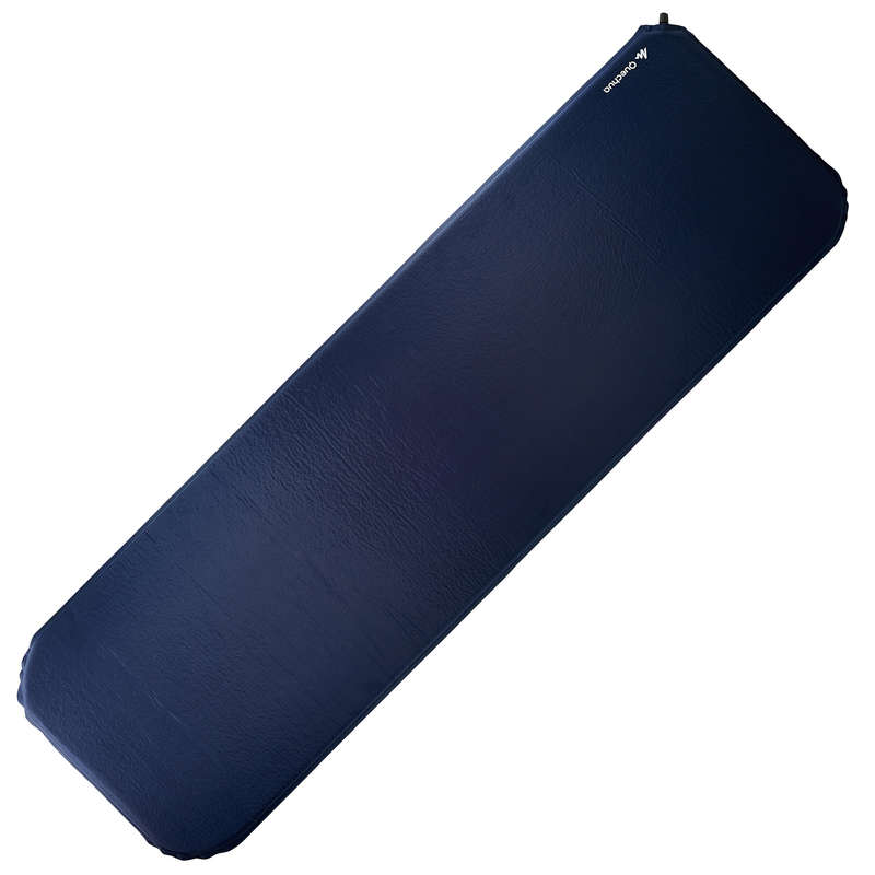 BASE CAMP MATTRESS Camping - Forclaz 400 XL Self-Inflating Mat - Blue QUECHUA - Sleeping Equipment