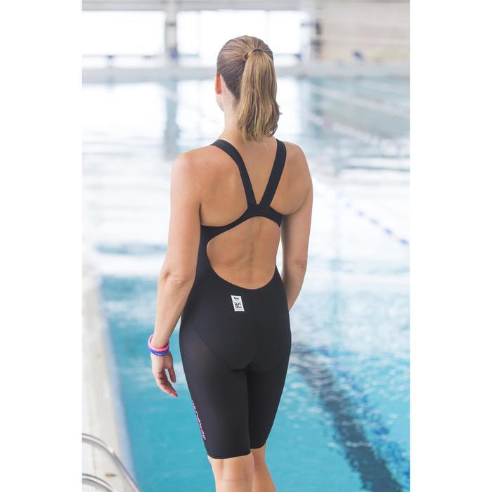 Combinaison de natation femme O JET PU NOIR - 446018