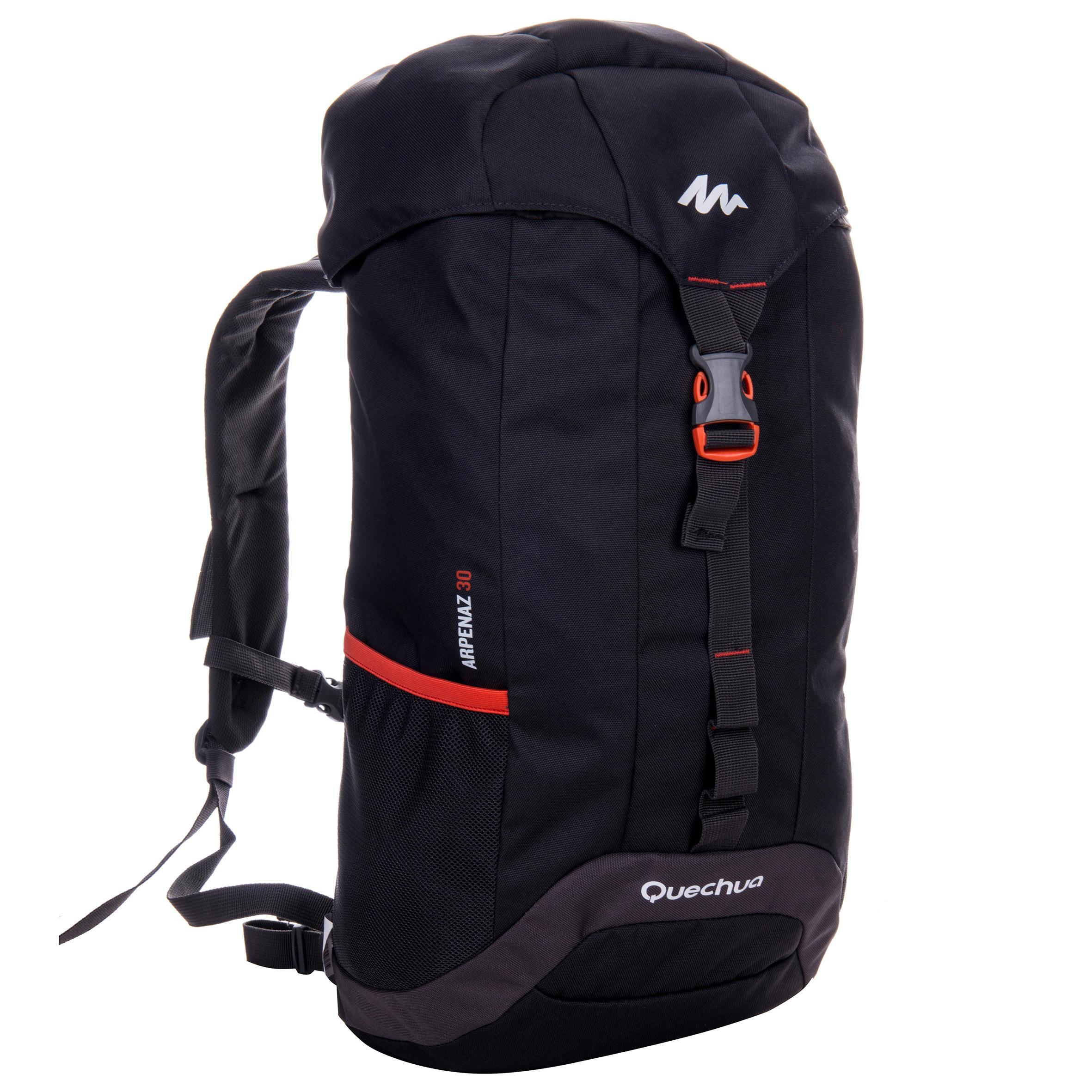 Arpenaz 30-Litre Hiking Backpack - Dark Grey/Gold