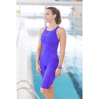 JET Women's open back swimming suit - Purple