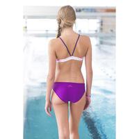 RIANA ALL TILLI bikini crop top - Purple
