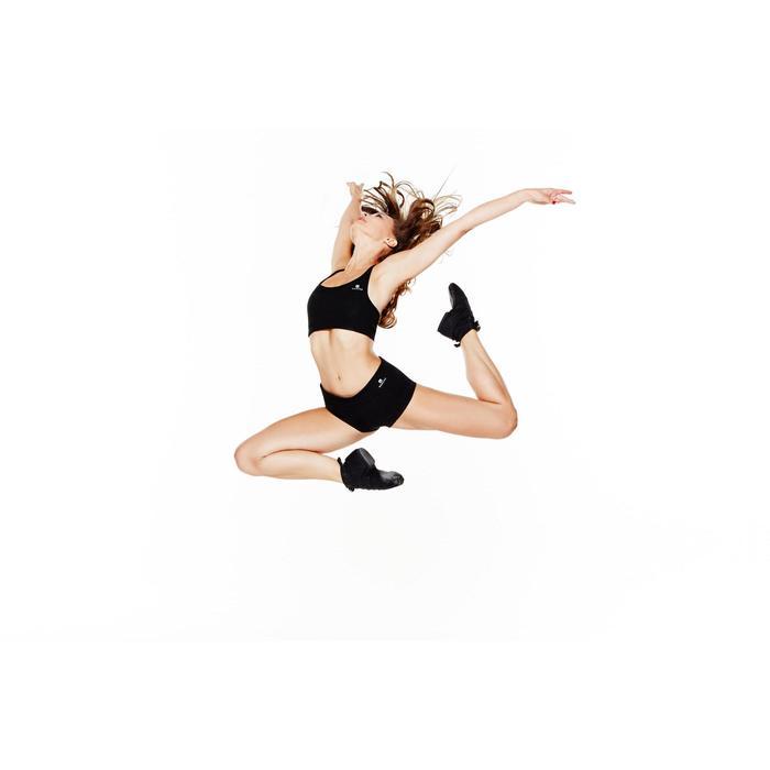 Brassiere fine bretelle danse noire femme
