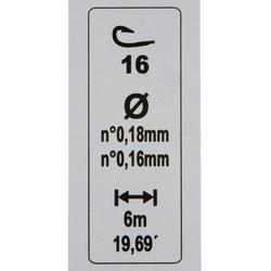 Posenmontage RL Pole Riverthin 2 g, Hakengröße 16