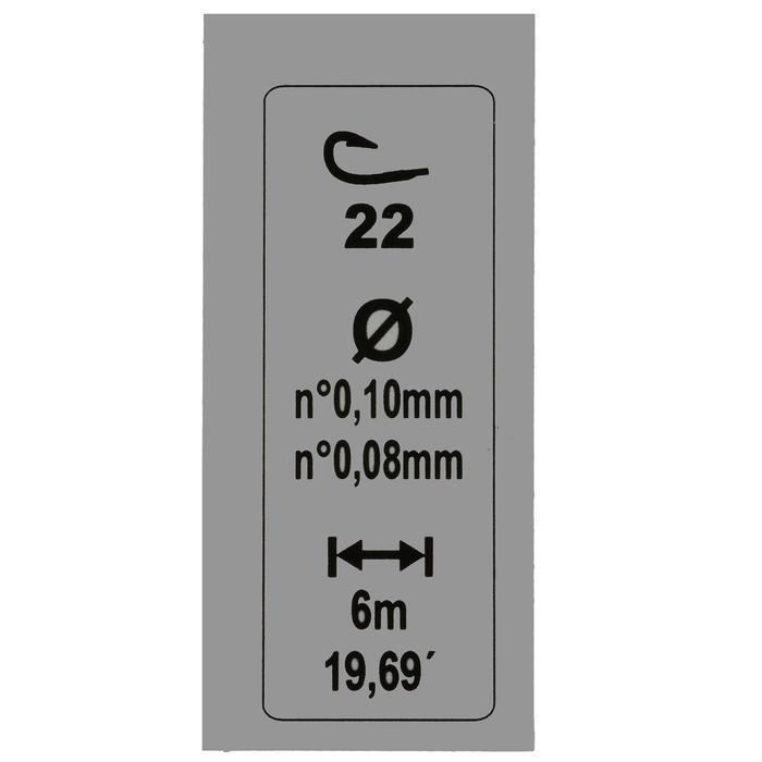 Posenmontage RL Lakethin 0,4 g