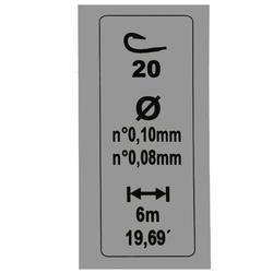 Gemonteerde lijn RL Pole Lakethin 0,6 g H20