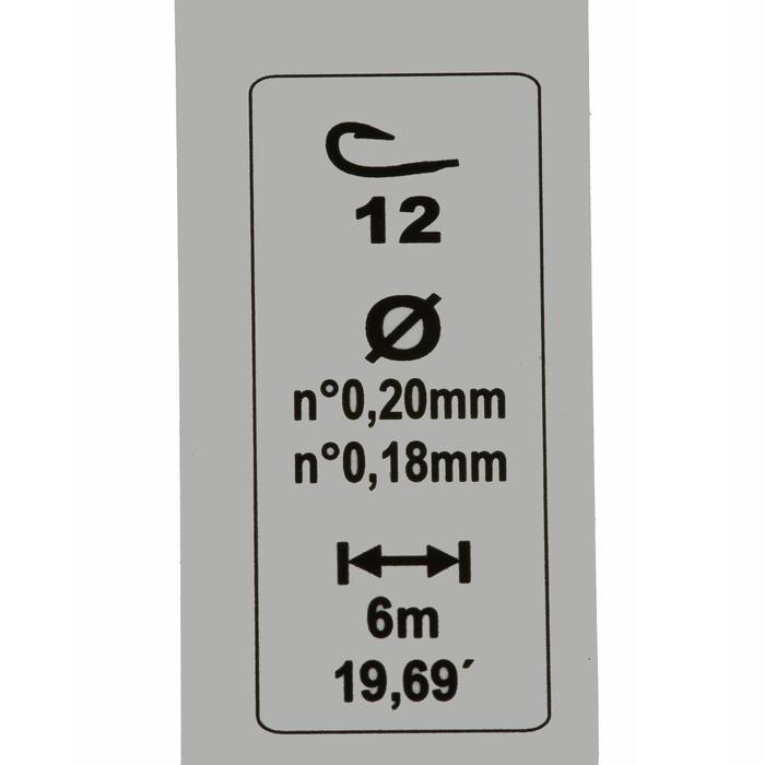 Posenmontage Stippfischen RL Pole Lakesensiv 1,5 g Haken Gr. 10
