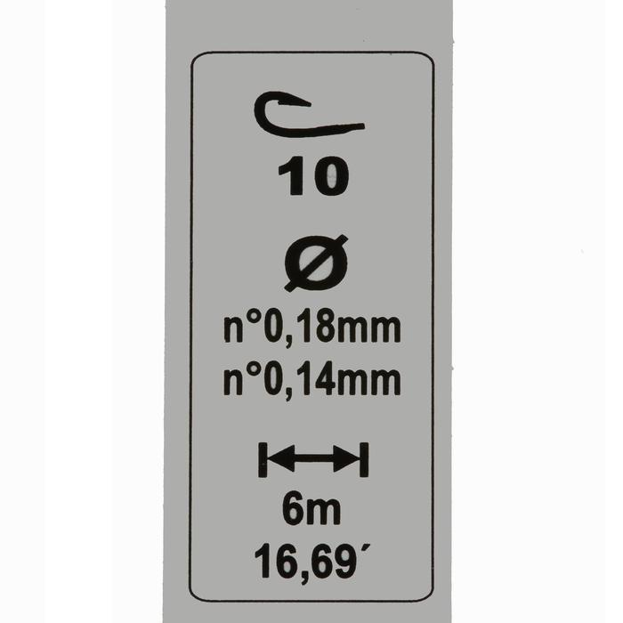 LIGNES MONTEES PECHE RL TOUCHYL H10 3g