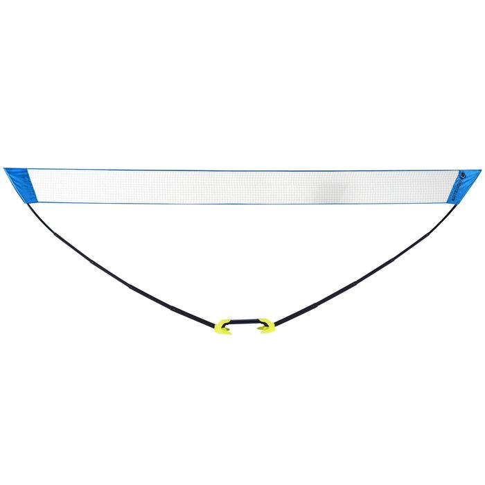 RED DE BÁDMINTON EASY NET 5 m - AZUL -