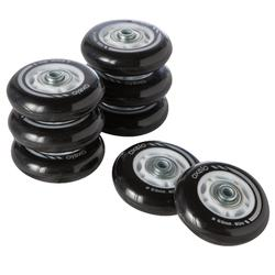 8 x 63 mm 82A Kids' Inline Skate Wheels and Bearings
