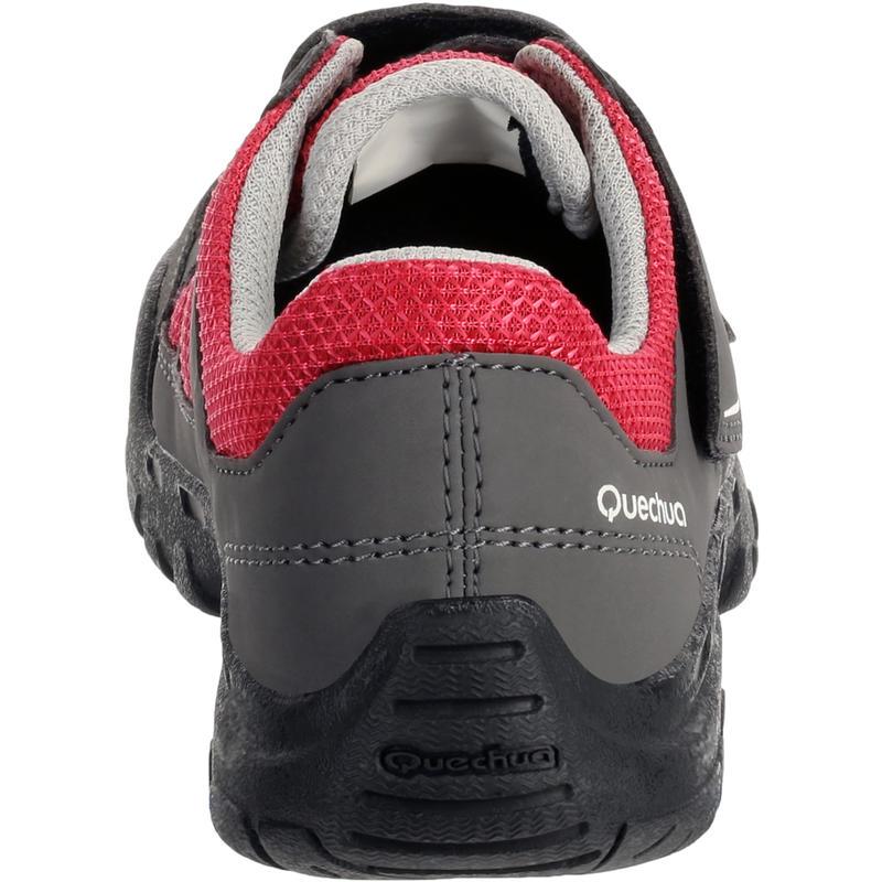 Arpenaz 50 Children's Hiking Shoes pink laces