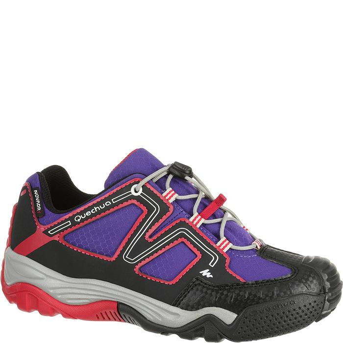 Chaussures de randonnée enfant Crossrock imperméable rose
