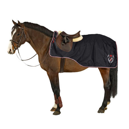 Training 3-in-1 Horse Riding Exercise Sheet for Horse - Black