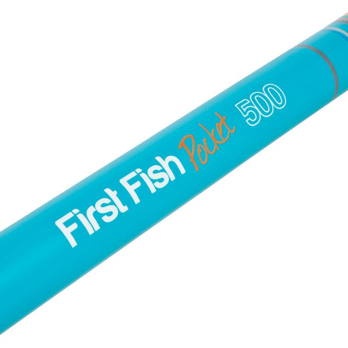 Conjunto descubrimiento de la pesca FIRST FISH POCKET 500