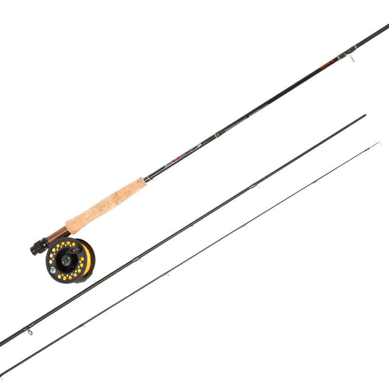 FLUGFISKE Fiske - Set GO FISHING FLY CAPERLAN - Flugfiske