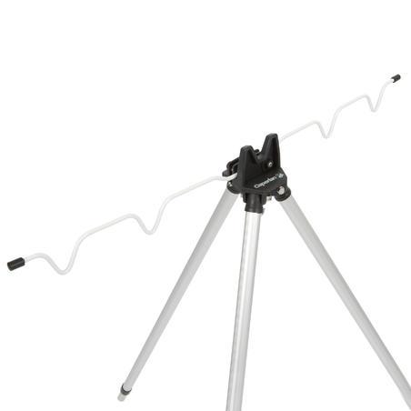Teleskopisks trijkājis 4 kātiem, makšķerēšanai jūrā