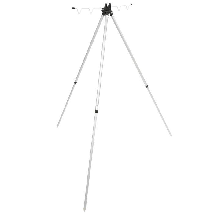 Dreibein-Rutenhalter teleskopisch 4 Ruten