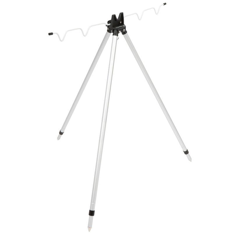 Телескопическая подставка-тренога TRIPOD  для 4 удилищ