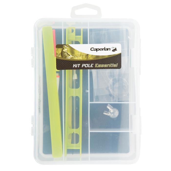 Kit d'accessoires pour la pêche au coup.