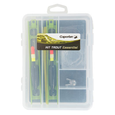 Kit accesorios para pesca de truchas POLE FISHING ACC KIT trout