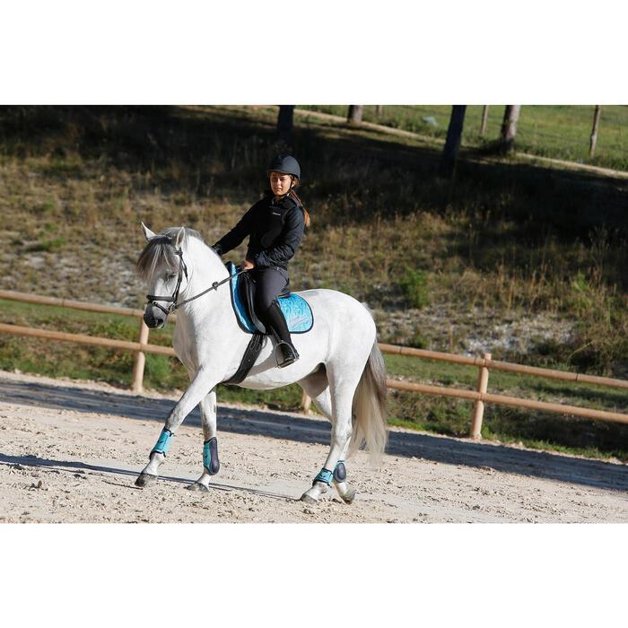 Veste équitation enfant SAFY noir - 448045