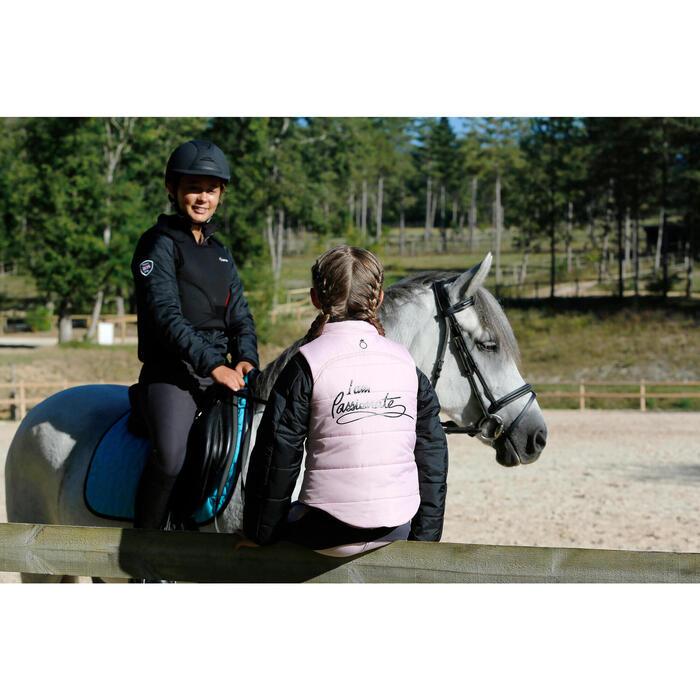 Veste équitation enfant SAFY noir - 448046
