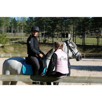 Veste équitation enfant SAFY noir - 448047