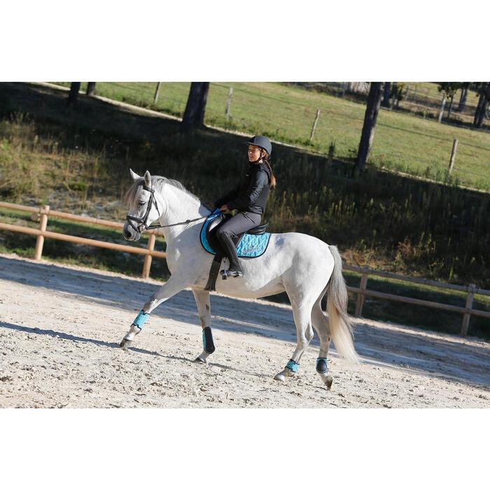 Veste équitation enfant SAFY noir - 448048