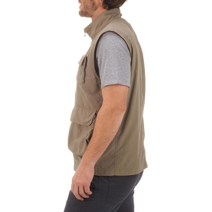 男款背心TREK 100-米色