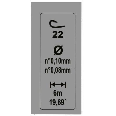 Волосінь LAKETHIN з оснащенням для риболовлі, Г20/Г22, 2 шт.