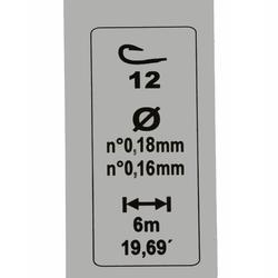 Posenmontage RL Pole Rivershow, 3 g, Haken Gr. 12