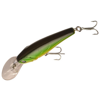 Floating fishing plug bait Barn 60 Hot Tiger