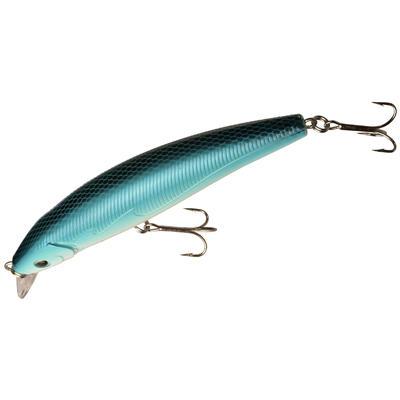 Señuelo Pez nadador flotante pesca Azul Quizer 100