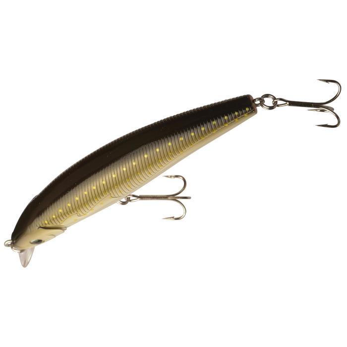 Pez nadador flotante pesca Quizer 100 Brown