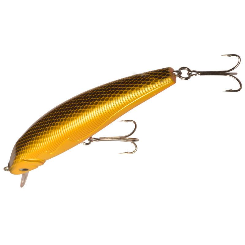 Floating fishing plug bait Quizer 100 Orange