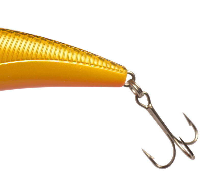 Floating fishing plug bait Quizer 100 Orange