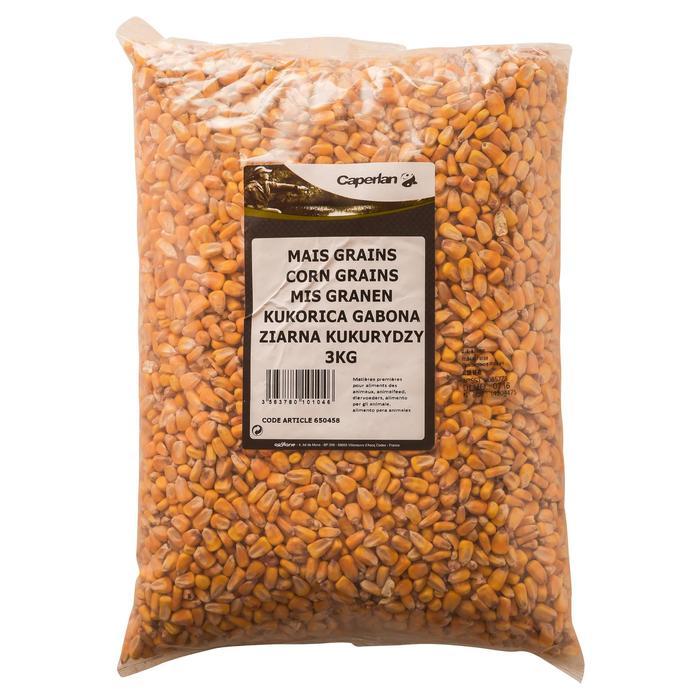 Droge maïskorrels voor karpervissen ongekookt 3 kg