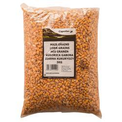 Zaden voor karpervissen ongekookte maïs 3 kg