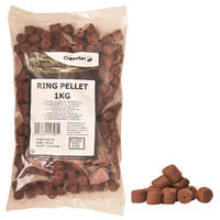 Carp fishing pellets RING 1 KG 14 mm