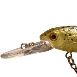Poisson nageur flottant pêche Glenroy 45 Truitelle