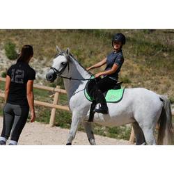 Pantalón equitación júnior 100 negro