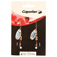 Weta #2 fishing spinner - Silver/Blue