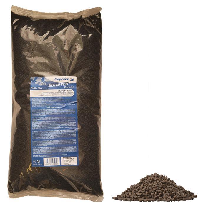 Gooster pellets zeewolf en zeebaars 3 mm voor zeehengelen