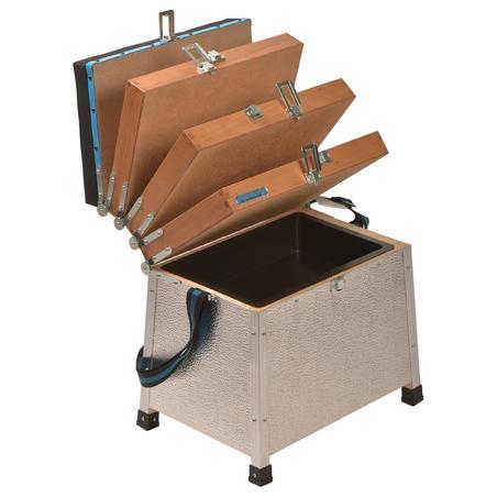 3 dėklų žvejybinė dėžė stacionariai žvejybai